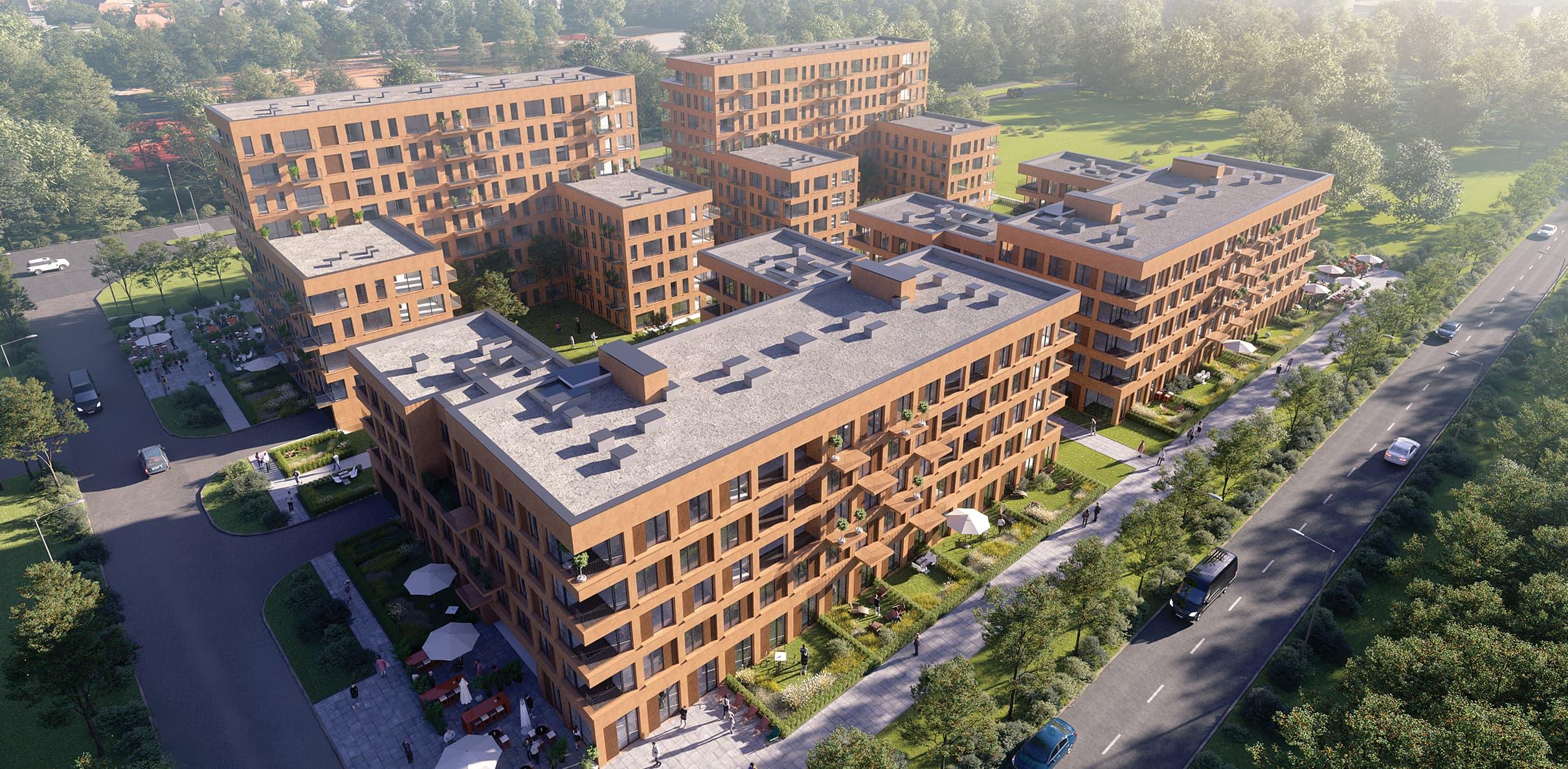Tuwima Gardens Apartamenty Łódź